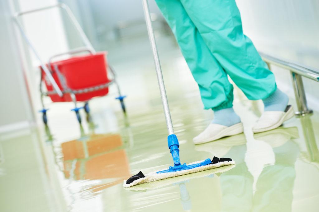 Praxisreinigung, Reinigungsservice