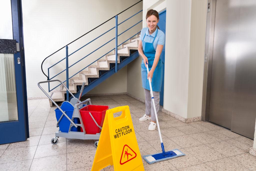 Treppenhausreinigung, Hausmeisterdienst
