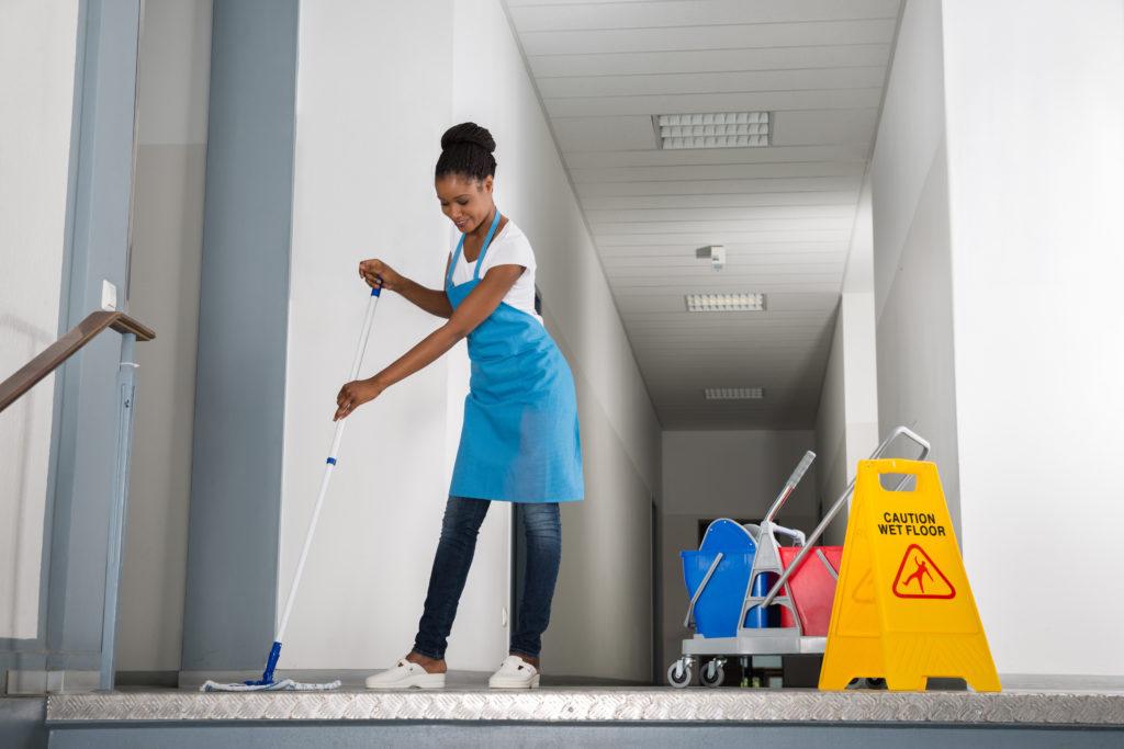 Treppenhausreinigung, Reinigungsservice