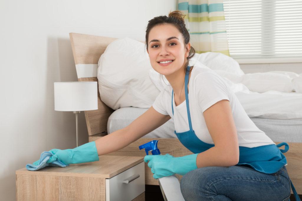 Wohnungsreinigung, Reinigungsservice