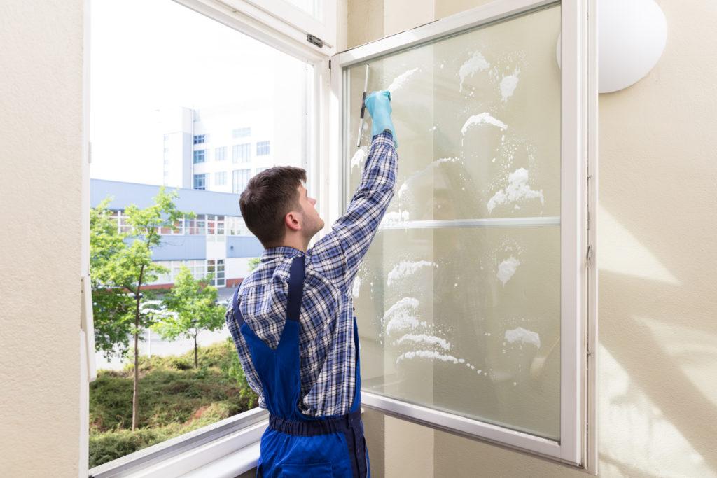 Fensterreinigung, Reinigungsservice