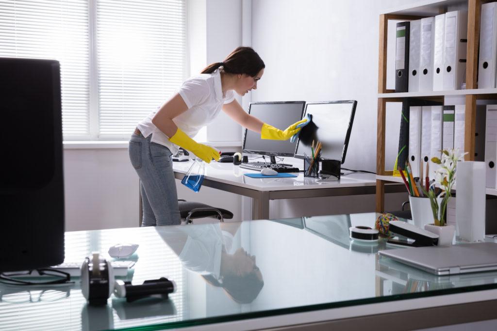 Büroreinigung, Reinigungsservice